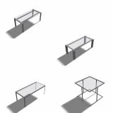 Rahmen Tischgestelle