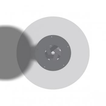 Spiralfuss Vierkantrohr - Stück