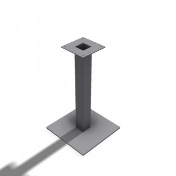 Tischfuss Bistrotisch Quadrat - Stück
