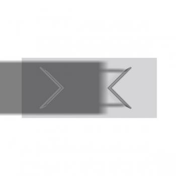 Tischfuss Winkelmeander - Paar