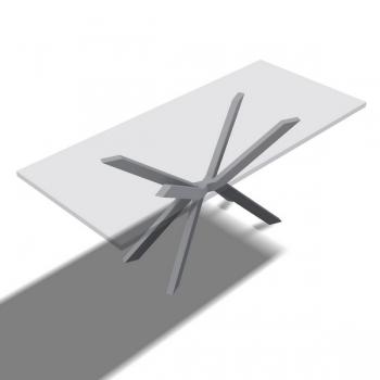 Tischfuss Kreuz X - Stück
