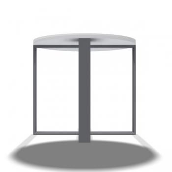 Tischfuss Kreuzschleife - Stück
