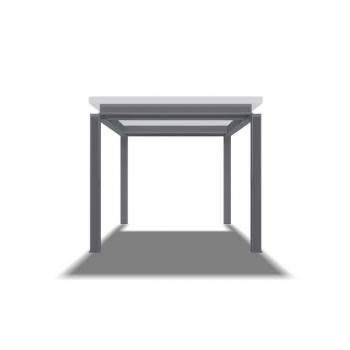 Rahmentischgestell Winkel Aussen
