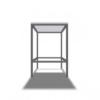 Rahmentischgestell Typ 1 Fussstange