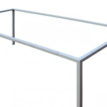 Tischgestell Pulverbeschichtet weiss