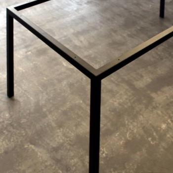 Tischgestell Pulverbeschichtet schwarz