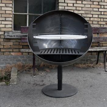 Feuerschale Bubble Grill drehbar
