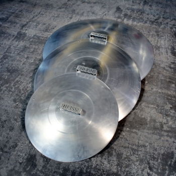 Deckel für Feuerschalen Aluminium