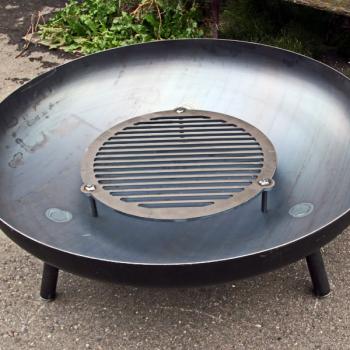 Feuerrost für Feuerschalen aus Stahl