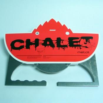 Chalet verpackt