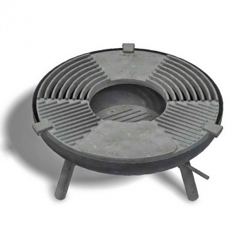 Feuereküche Total 80 Grillring Gusseisen