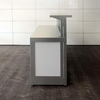 Klappbar Barelement, Klapptheke aus Aluminium