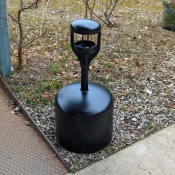 Outdoor Standascher für den öffentlichen Aussenraum