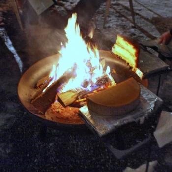 Feuermit Käse