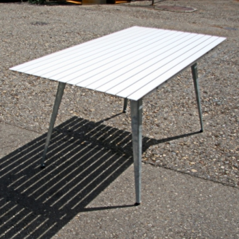 Gartentisch Aluminium