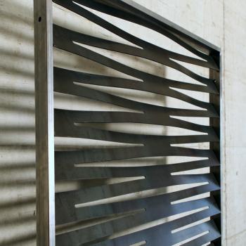 Sichtschutz Raumtrenner Muster Plexus H
