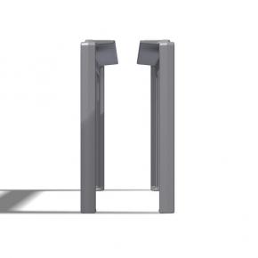 DG Tischfuss Aluminiumguss gebohrt