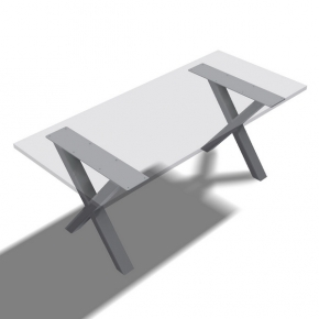 Tischfuss X-Form - Paar