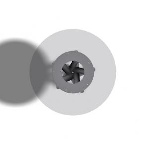 Spiralfuss Rundrohr - Stückundrohr