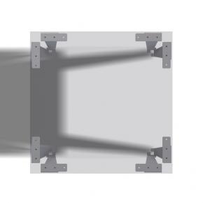 Tischbeine Einfalter Schlitz - 4 Stück