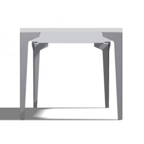 Tischbein Einfalter Schnell 90° - 4 Stück
