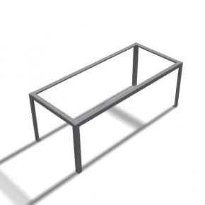 Rahmentischgestell Winkel Innen