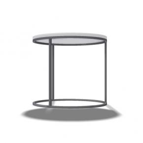 Rahmentischgestell Ring Stützen Vierkant