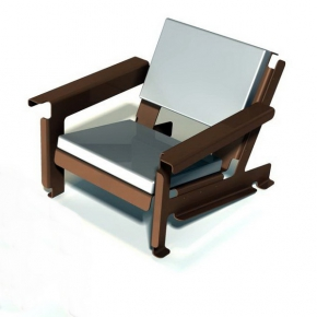 Chaise Feuille