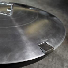 Spezialdeckel für Feuerschalen mit Feuerküche 80