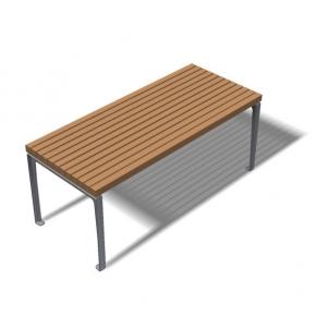 Dachgarten Tisch