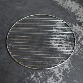 Edelstahlgrill 38cm