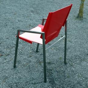 """Gartenstuhl """"Relais Basic"""" Aluminium Edelstahl"""