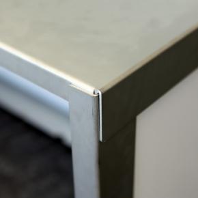 """Klappbar"" Barelement Klapptheke aus Aluminium"