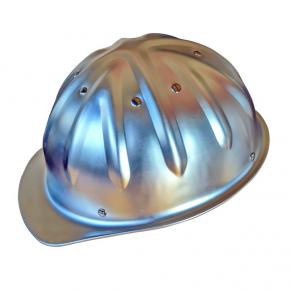 """Schutzhelm aus Aluminium """"Metall"""""""
