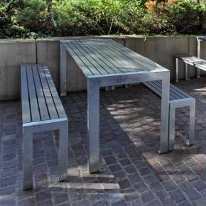 Gartentisch Modell Terrasse 700 Garnitur