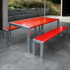 Gartentisch Modell Terrasse Garnitur