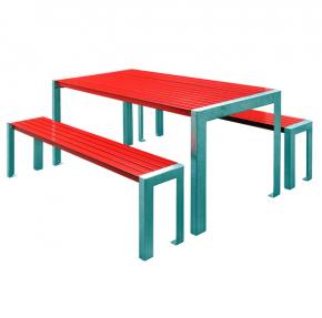 """Gartentisch Garnitur Aluminium """"Terrasse"""""""