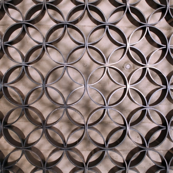 Viadukt Metall Muster