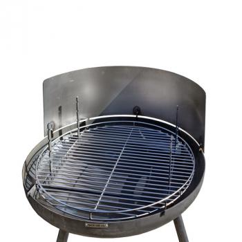 Windschutz für Feuerschalen