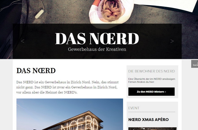 noerd website