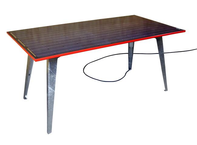 metall werk z rich ag wende schnell gartentisch mit solarmodul und netzeinspeisung. Black Bedroom Furniture Sets. Home Design Ideas