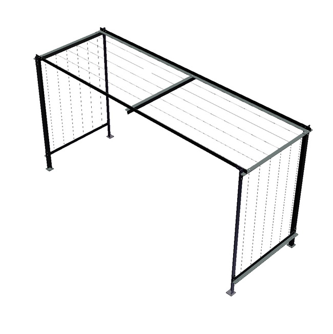 metall werk z rich ag zirkumflex die pergola f r. Black Bedroom Furniture Sets. Home Design Ideas