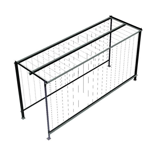 metall werk z rich ag zirkumflex die pergola f r. Black Bedroom Furniture Sets. Home Design Ideas