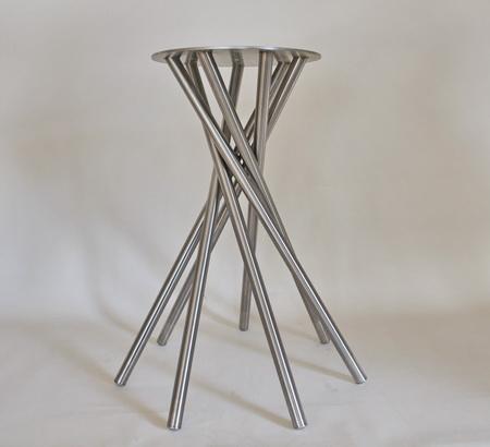 Tischgestell Für Runde Tischplatte.Metall Werk Zürich Ag Spezialtischgestelle