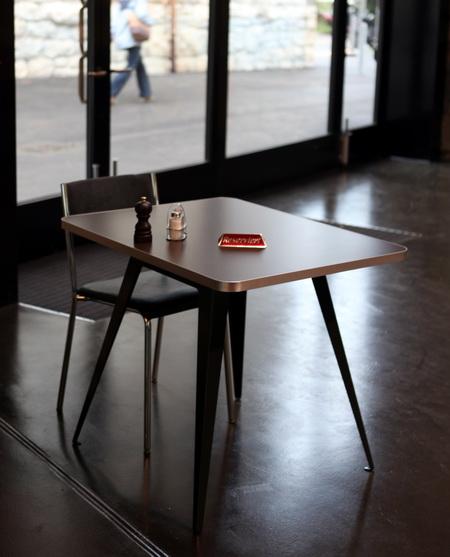 metall werk z rich ag tischfuss schnell. Black Bedroom Furniture Sets. Home Design Ideas