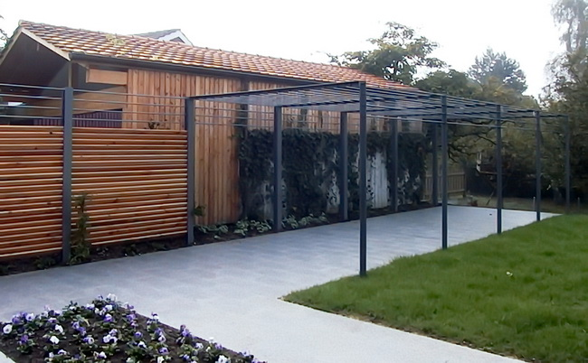 Pergola Metall Pictures to pin on Pinterest