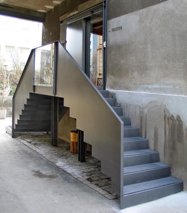 metall werk z rich ag metalltreppe giesserei oerlikon. Black Bedroom Furniture Sets. Home Design Ideas