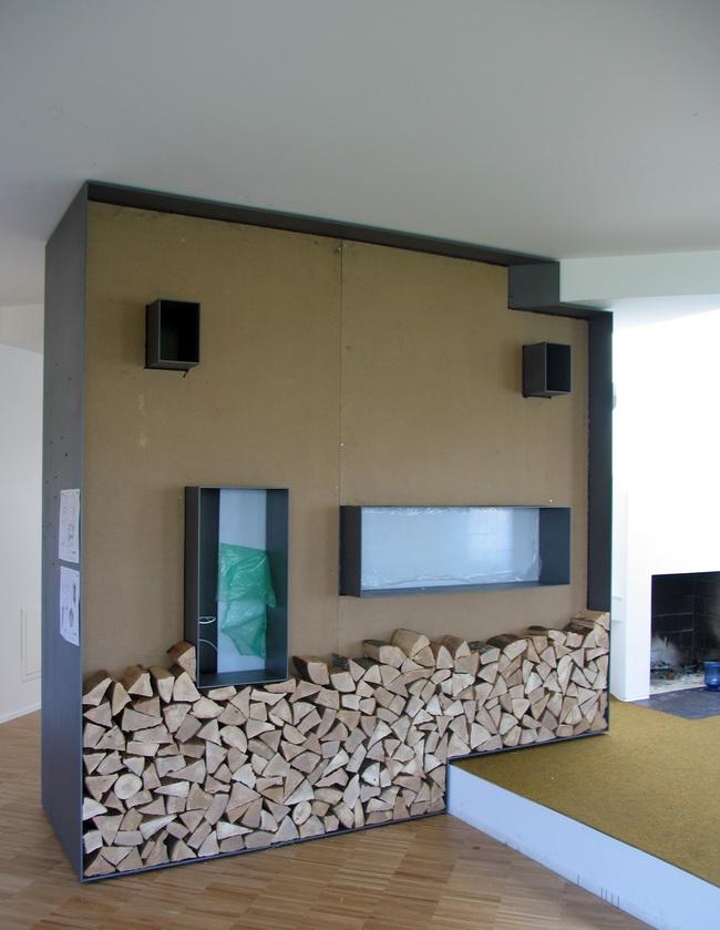 wohnwand mit simple wohnwand mit viel stauraum moderne. Black Bedroom Furniture Sets. Home Design Ideas