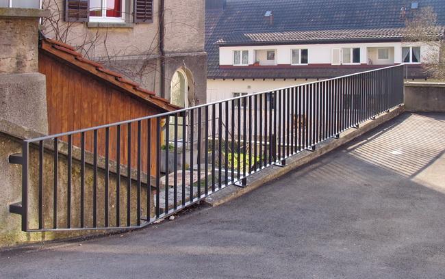 Metall Werk Zurich Ag Gelander Handlauf Und Absturzsicherung