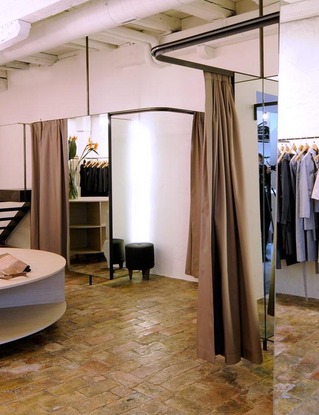 windfang vorhang gastro zuhause image idee. Black Bedroom Furniture Sets. Home Design Ideas